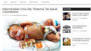 """Interminable Crisis Del """"Sistema"""" De Salud Colombiano"""