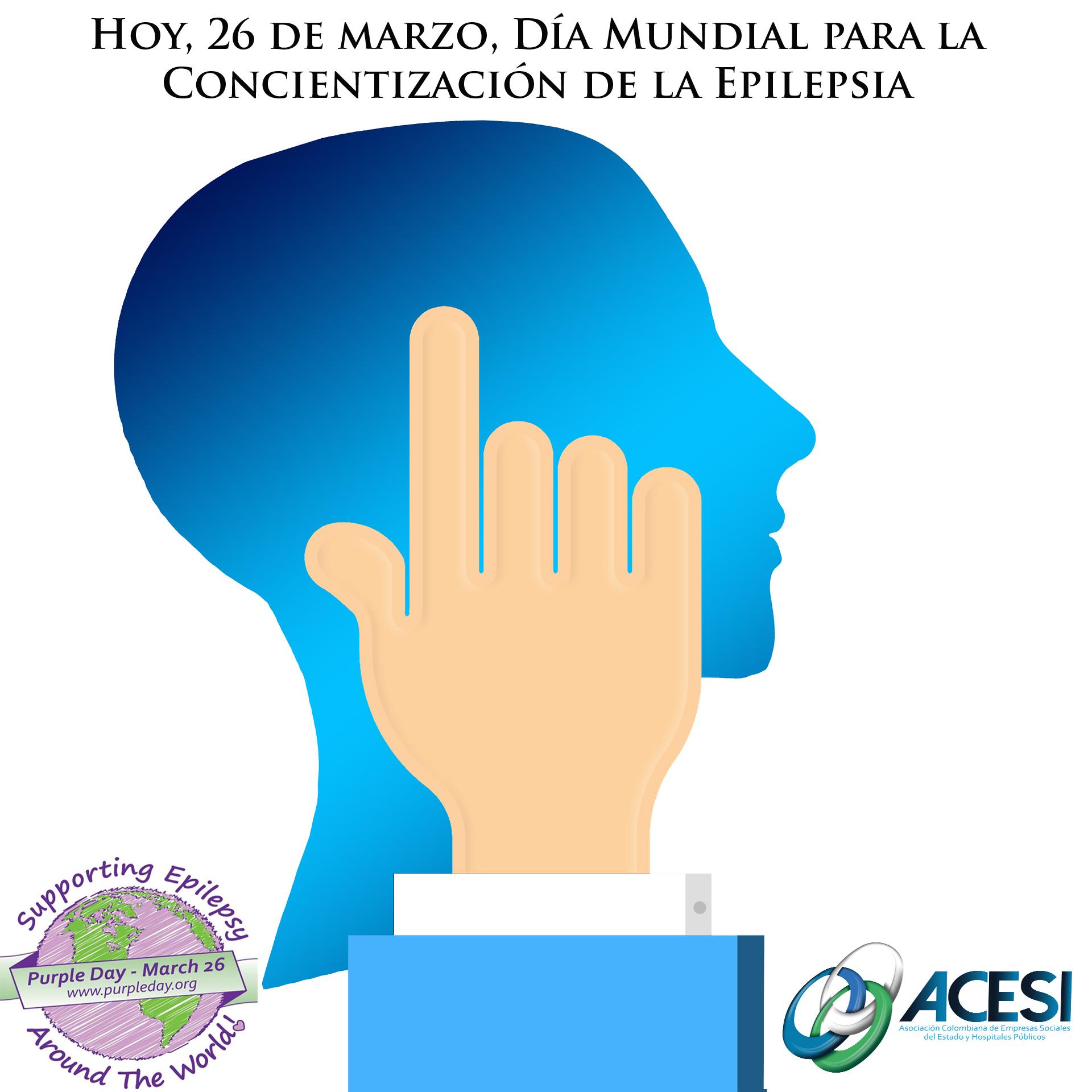 Hoy, 26 de marzo, Día Mundial para la Concientización de la Epilepsia
