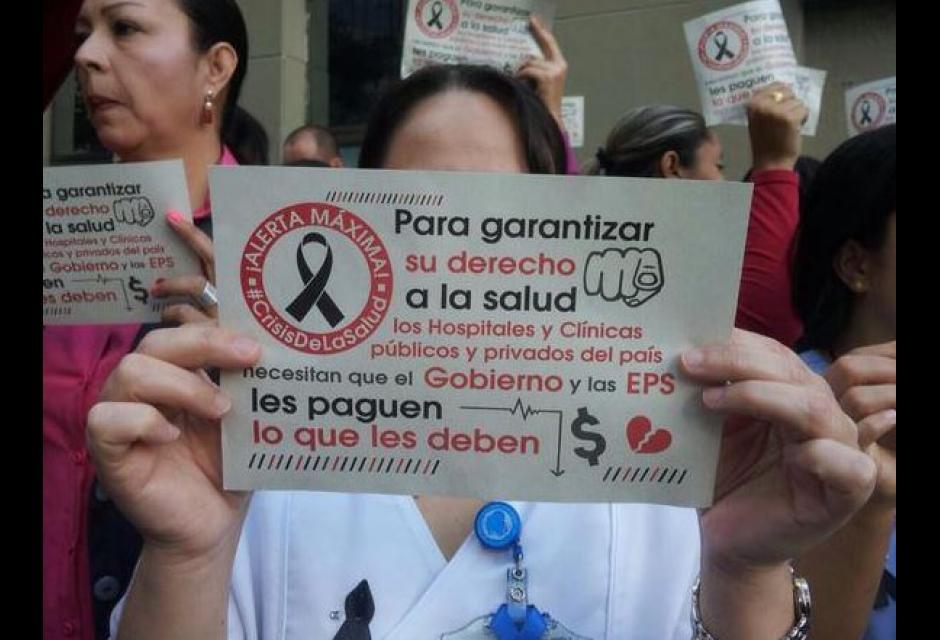 Sector salud protestará  este miércoles: ACESI