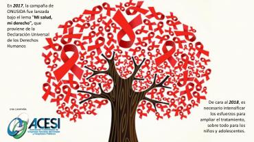 Vencer el VIH-Sida es una trabajo interinstitucional que demanda coraje