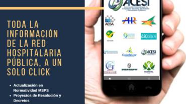 La App de la red pública hospitalaria de Colombia