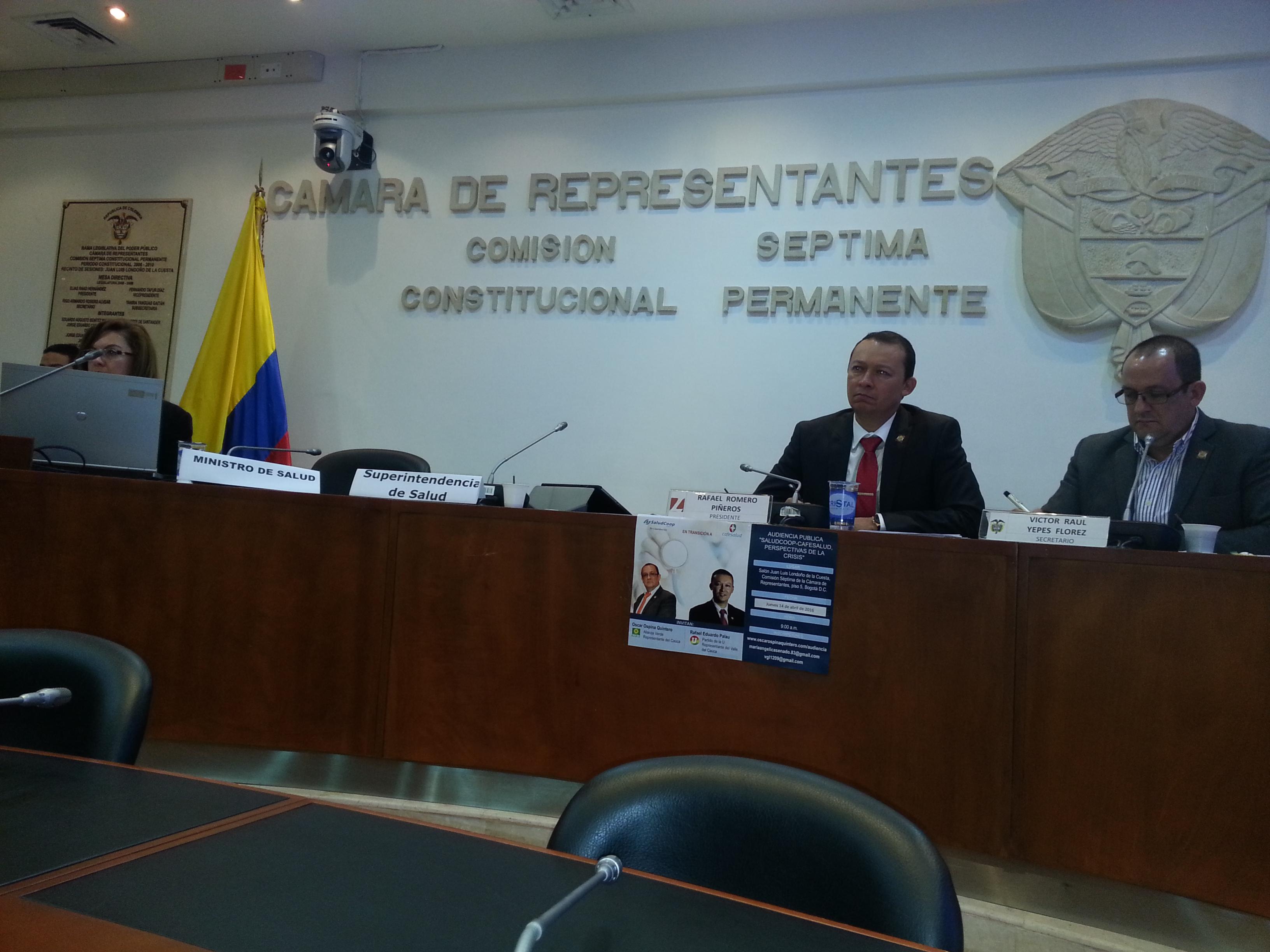 Estado debe asumir deudas de la liquidada Saludcoop: ACESI