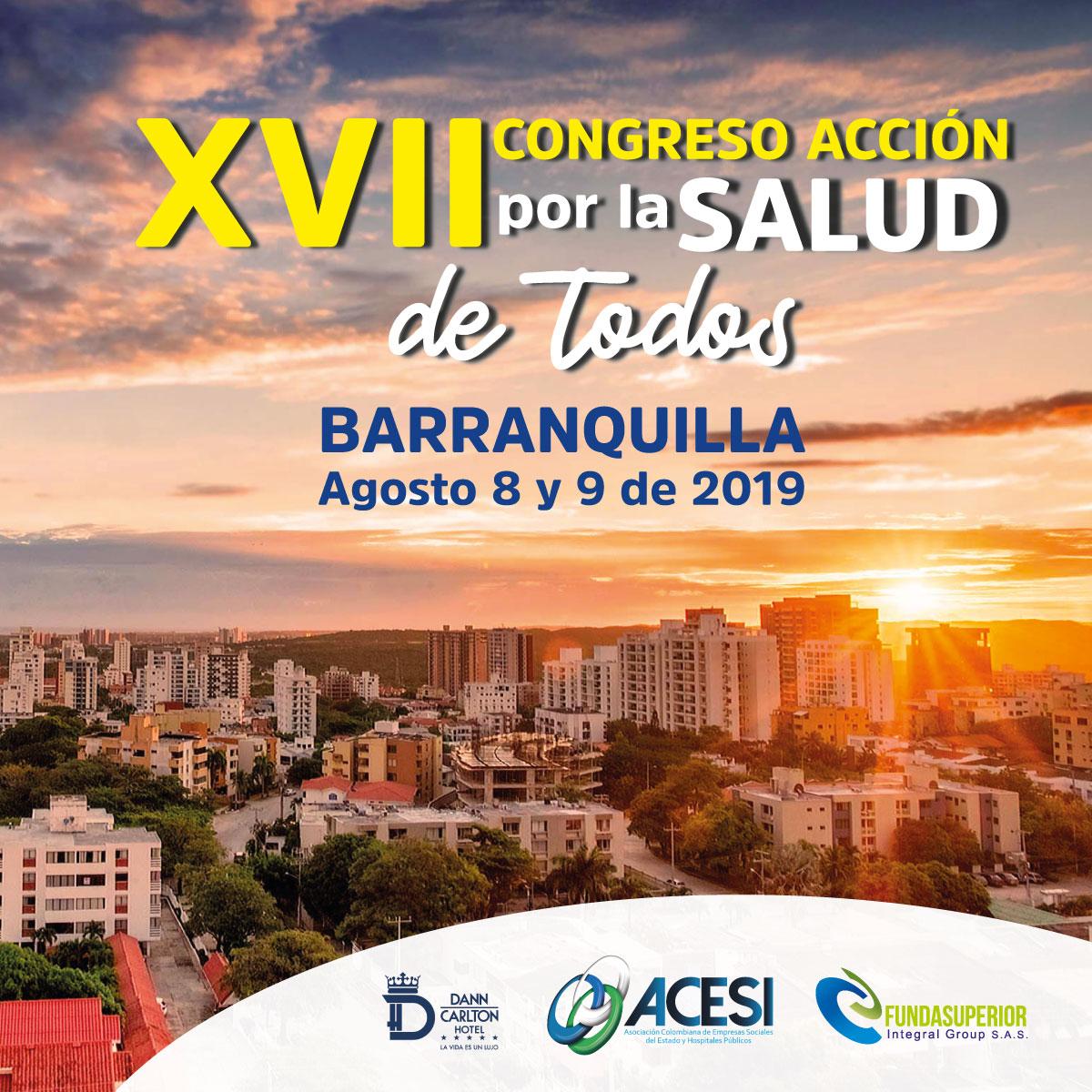 Plana mayor de la salud en Colombia, confirmada para el XVII Congreso Nacional de Hospitales Públicos