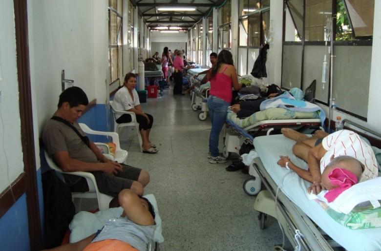 Se agrava la situación de la red pública hospitalaria del país en plena epidemia