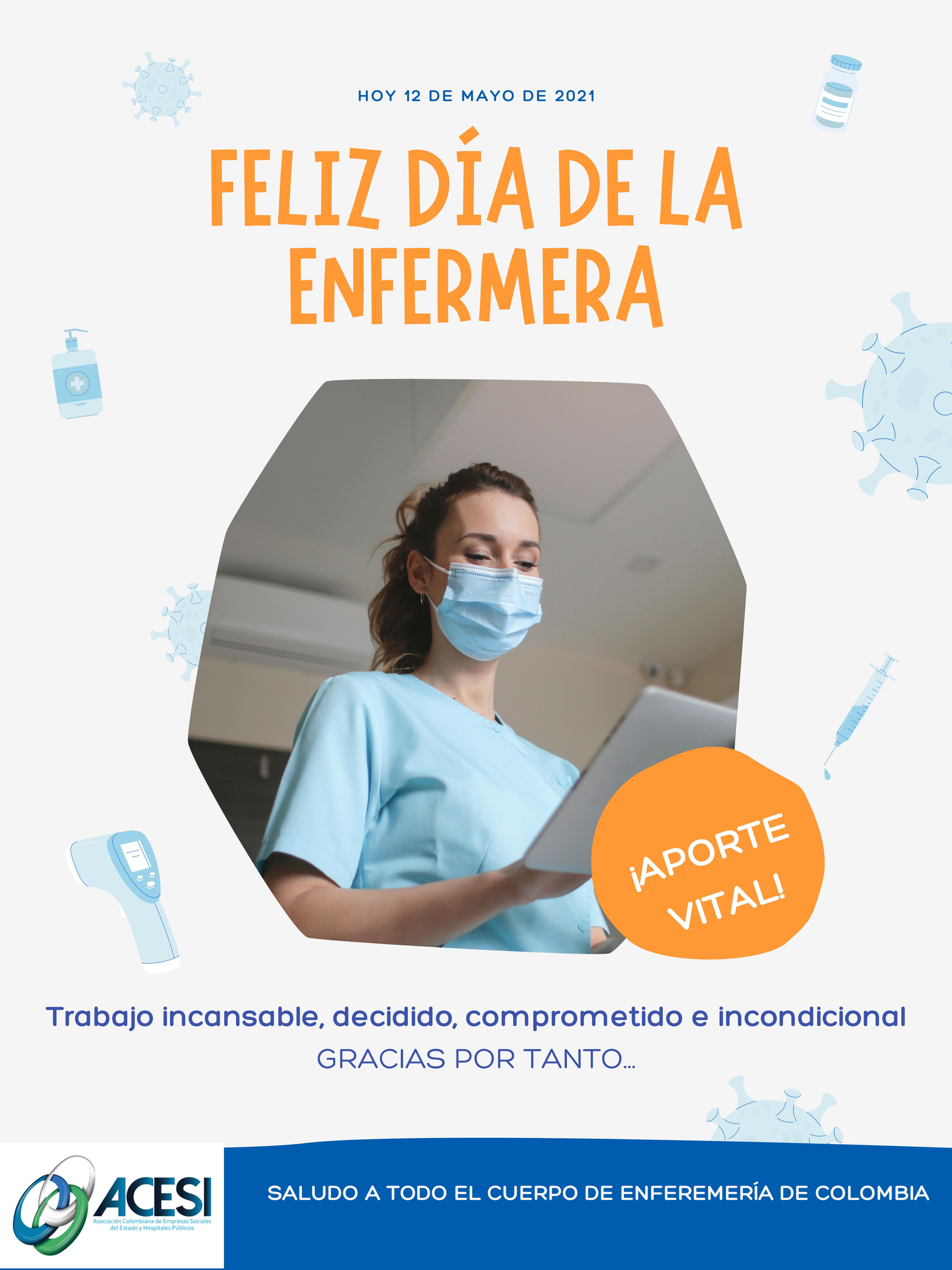 Feliz Día de la enfermera